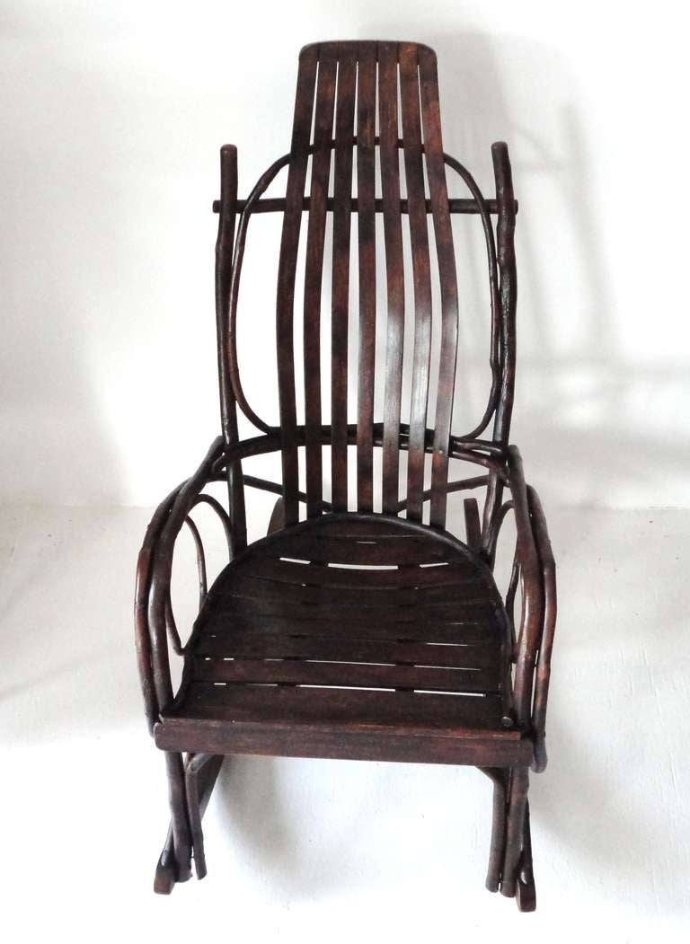 amish child39s bentwood rocking chair for sale at 1stdibs With amish rocking chair for sale