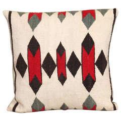Navajo Indian Weaving Throw Pillow