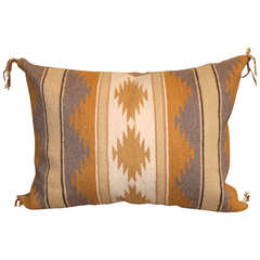 Chinle Navajo Woven Bolster Pillow