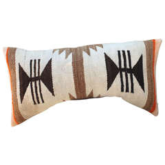 Navajo Starburst Banded Bolster Pillow
