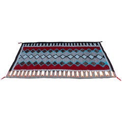 Colorful Navajo Indian Weaving