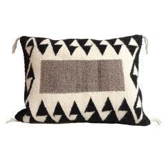 Great Navajo Weaving Eye Dazzler / Arrows Pillow