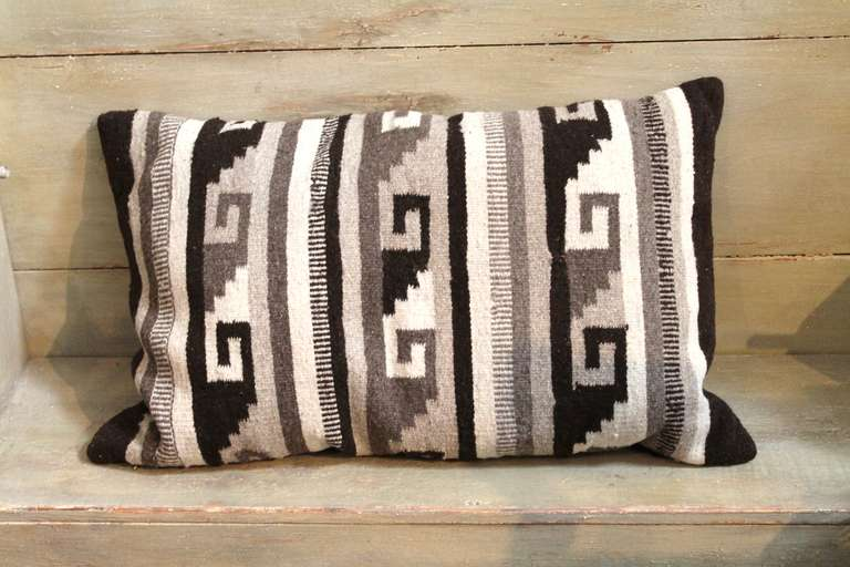 Two Grey Hills Saddle Blanket Pillow At 1stdibs