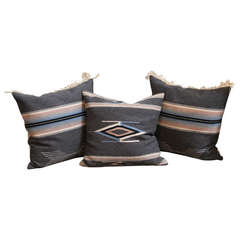 Set of Three New Mexican Serape Pillows