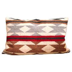 Navajo Bolster Pillow, circa 1930