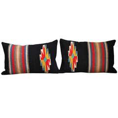 Pair of Rio Grande Vallero Woven Pillows