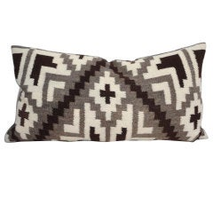 Navajo Indian Weaving Bolster Pillow l