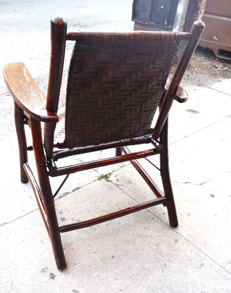 This Signed Old Hickory Arm Chair is no longer available.