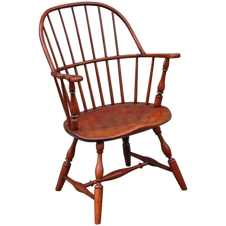 19th Century Sack Back Windsor Chair At 1stdibs