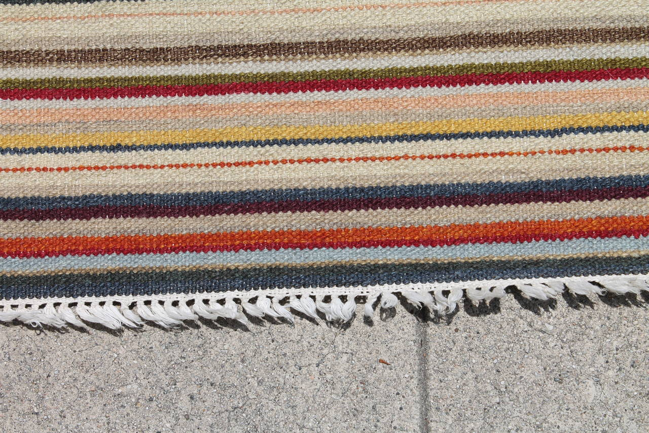 Pastel Large Room Size Rag Rug For Sale At 1stdibs