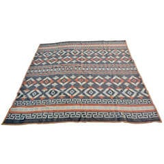 Early Cotton Beacon Indian Design Camp Blanket