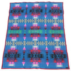 Early 20th Century Pendleton Cayuse Wool Camp Blanket