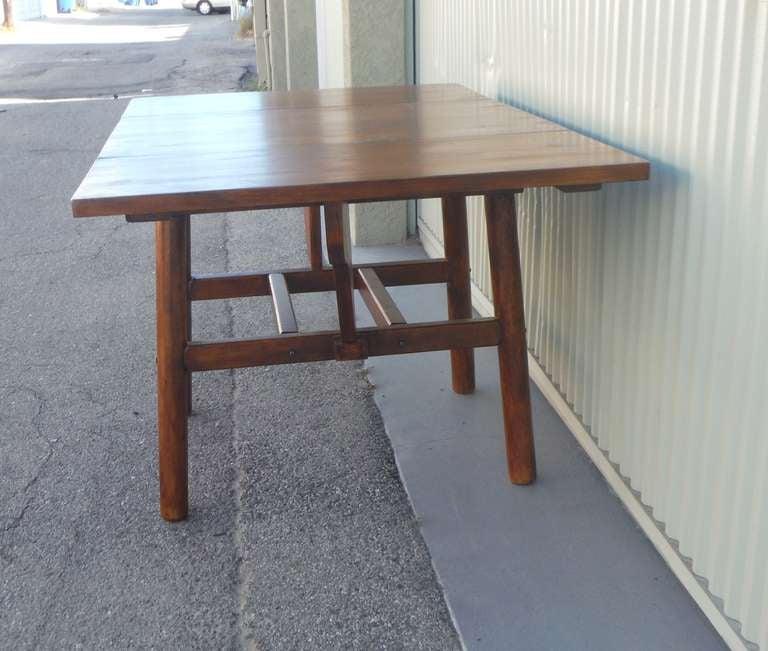 Signed Rittenhouse Furniture Rustic Drop Leaf Dining Table  : 008l from www.1stdibs.com size 768 x 651 jpeg 57kB