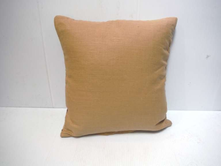 Early Navajo Indian Weaving Pillow 4