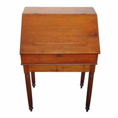 Early 19th Century Pennsylvania School Masters Desk