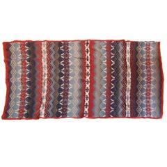 Beacon Indian Design Blanket /cotton W/original Label