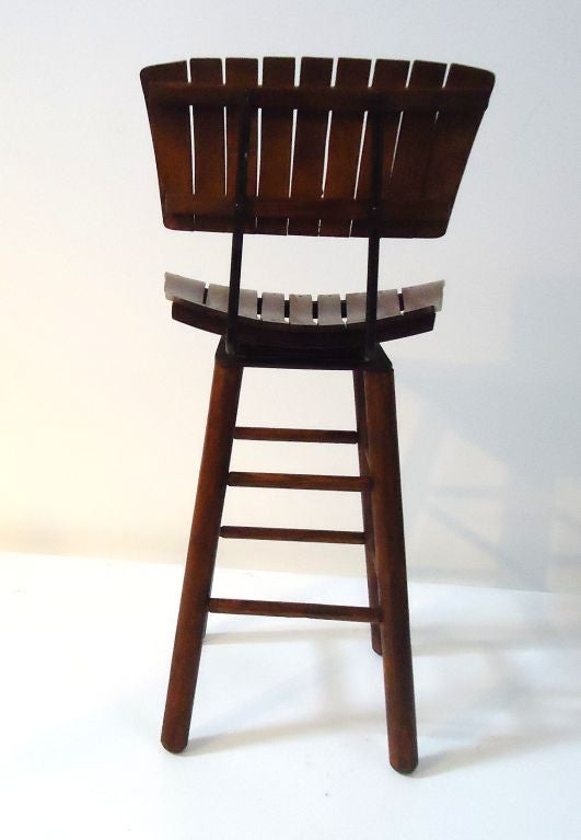 Pair Of Rustic Swivel Bar Stools With Backs at 1stdibs : 797113051494495 from 1stdibs.com size 531 x 767 jpeg 34kB