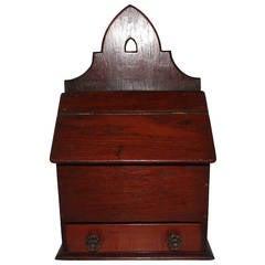 Early 19th Century Wall Box from Pennsylvania