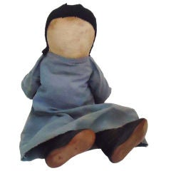 Early 20th Century Amish Doll