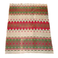 Early 20thc Wool Indian  Design Trade Blanket
