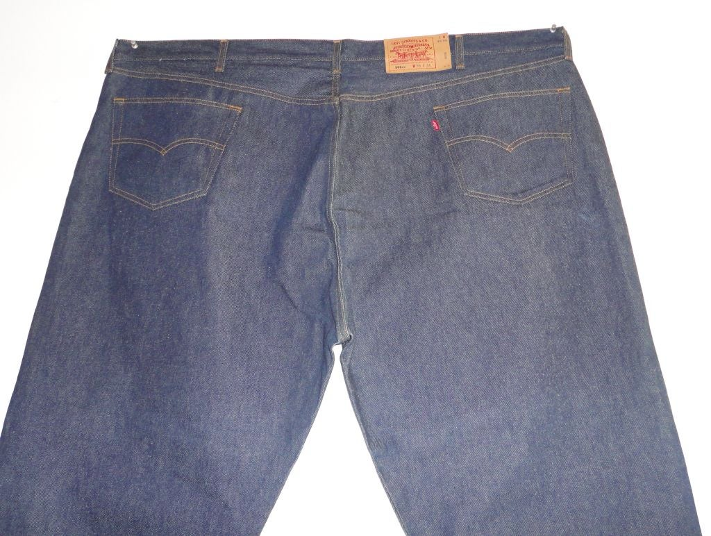 Store Sample Levis 501 Jeans 56w X 34l At 1stdibs