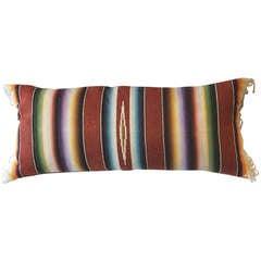 Amazing Mexican Serape Bolster Pillow