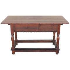 18th Century Pennsylvania Walnut Tavern Table