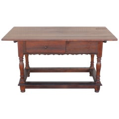 18th Century Pennsylvania Walnut Tavern Table