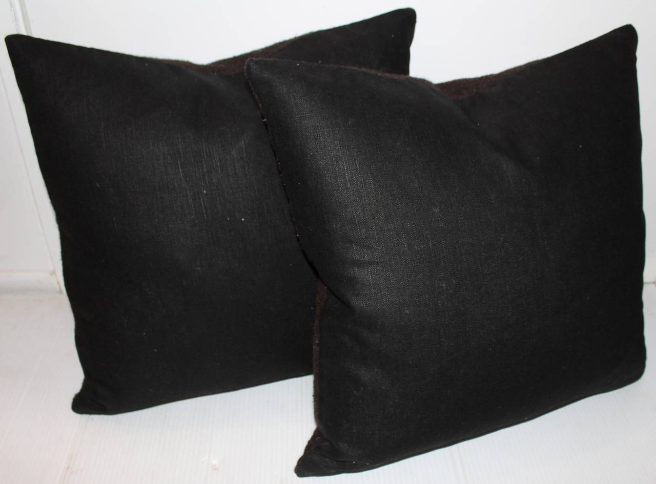 Woven Mexican Indian Weaving Birds in Flight Pillows For Sale