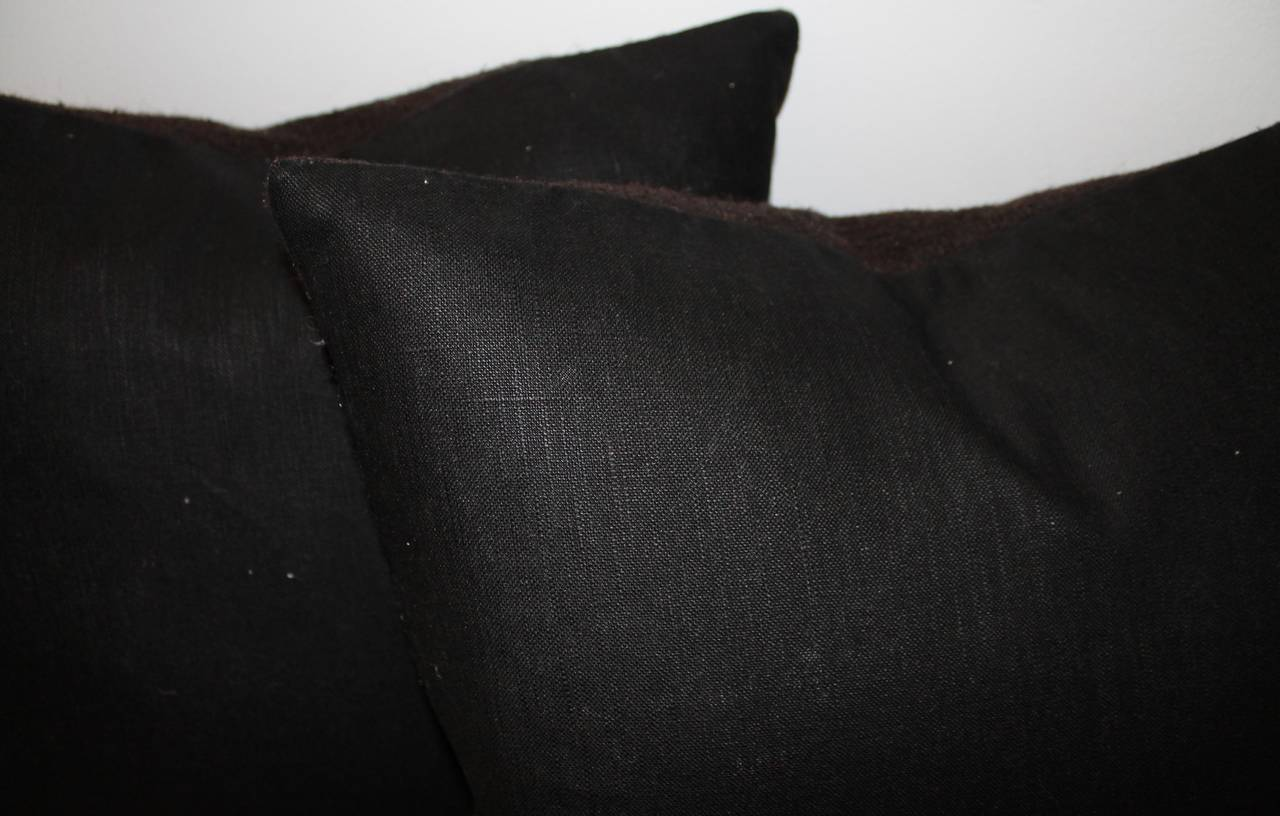 Mexican Indian Weaving Birds in Flight Pillows In Excellent Condition For Sale In Los Angeles, CA