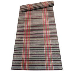 Pennsylvania Amish Rag Rug Runner /Great  Colors-16 Feet Long