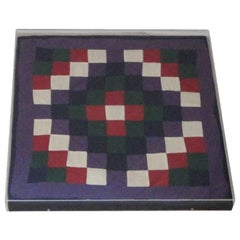 1930s Amish Doll Quilt from Lanc., Pennsylvania, One-Patch