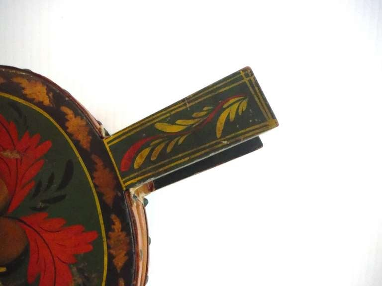 Fantastic 19th Century Paint Decorated New England Bellows 4