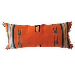 Fantastic Mexican/American Indian Serape Bolster Pillow