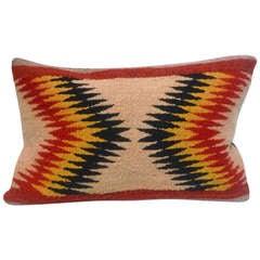 Geometric Eye Dazzler Indian Weaving Pillow