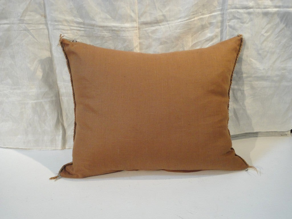 Fantastic Navajo/Yea Indian Weaving Pillow 5