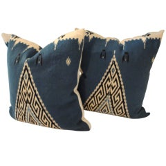 Indian Weaving Texcoco Pillows w/ Blanket Backing