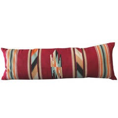 Amazing Large Mexican American Bolster Pillow