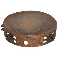 Early 19th Century  American Tambourine from New England
