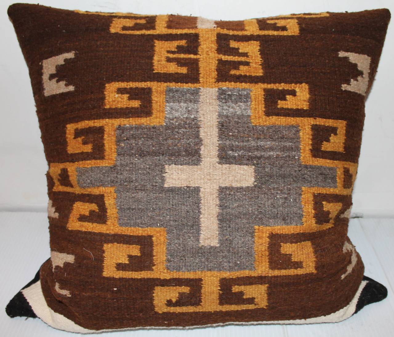 1885 Antique Navajo Rug Transitional Period Late Classic