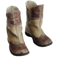 Pair of Cool Vintage Child's Cowboy Boots