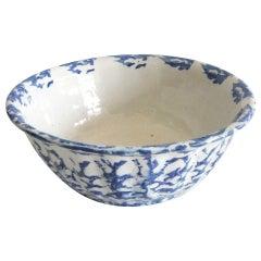 19th Century Spongeware Bowl