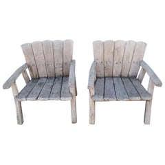 Children's Adirondack Vintage Chairs