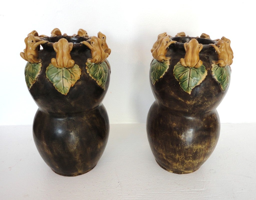 Rare Arts Crafts Pottery Ca