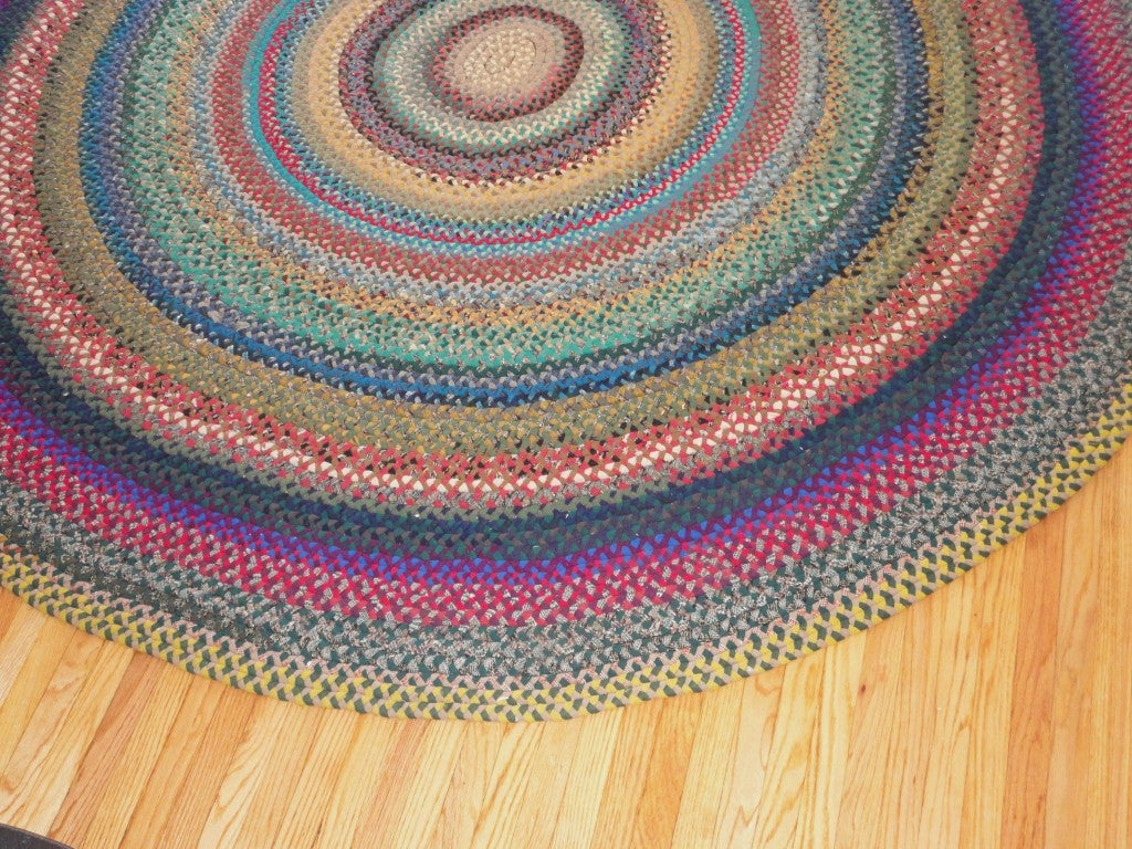 28 round wool braided rugs s round braided wool rug fr