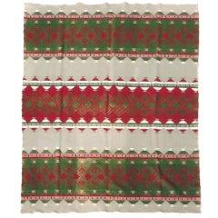 Fantastic  Early Oregon City Indian Design Camp Blanket