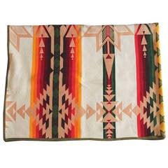 Rare Pendleton Indian Design or Star Cayuse Camp Blanket