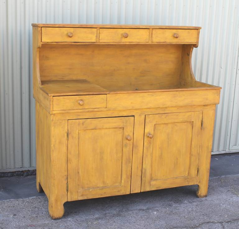 ... Painted High Back Dry Sink From Pennsylvania is no longer available