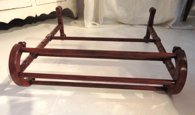 19thc Unusual Form Quilt/Blanket Rack From New England image 6