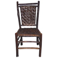 Fantastic Signed Old Hickory Side Chair